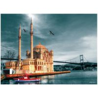 Anatolian 1000 Parça Puzzle Ortaköy Cami Nostalji