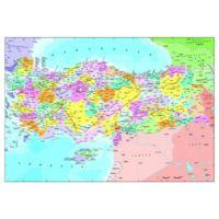 Anatolian 260 Parça Puzzle Türkiye Siyasi Haritası