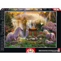 Educa 500 Parça Puzzle Unicorn Valley of the Waterfalls