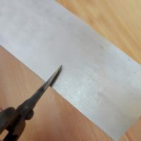 50 Mikron 925 Ayar Gümüş Astar Malzeme 6 cm. Genişlik df42