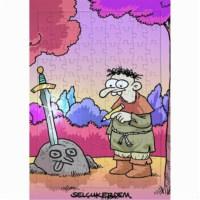 BuldumBuldum Selçuk Erdem 'Excalibur' Yapboz
