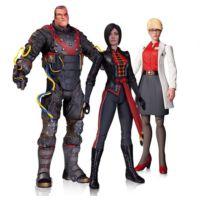 DC Collectibles Batman Arkham Origins 3 Pack Action Figure Set