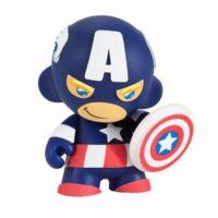"Kidrobot 4"" Marvel Mini Munny Captain America"