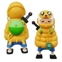 Kidrobot Adventure Time Puff Jake N Lil Finn Medium Figure