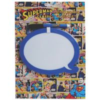 Half Moon Bay Superman Speech Bubble Beyaz Tahta