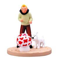 Moulinsart Tintin Mushroom Box Scene