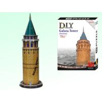 Toptancı Kapında 3D Puzzle Maket Galata Kulesi