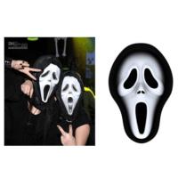 Toptancı Kapında Çığlık Maskesi