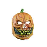 Toptancı Kapında Halloween Kabak Korku Maskesi