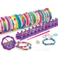 Toptancı Kapında Loom Bands 600 Parça Bileklik Yapma Seti Ve Örgü Tezgahı