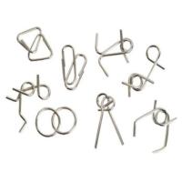 Toptancı Kapında Metal Puzzle Seti (4 Çift Set)
