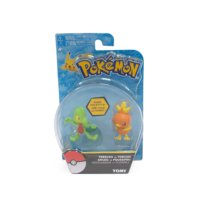 Takara Tomy Pokemon Figür 2'Li Set: Treecko Ve Torchic