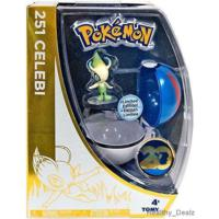Tomy Pokemon 20Th Anniversary Celebi Ve Great Pokeball Set