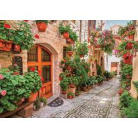 Gold Puzzle 1000 Parça İtalya'da bir sokak Puzzle