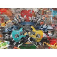 Gold 1500 Parça Müzikal Grafiti Puzzle