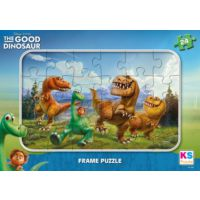 Ks games İyi Dinazor 24 Parçalı Frame Puzzle