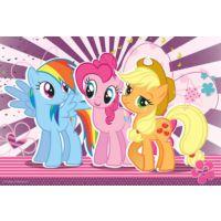 Trefl 100 Parça Puzzle : Miy Little Pony ve Arkadaşları