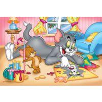 Trefl 17159 : Tom ve Jerry Çocuk Puzzle : 60 Parça
