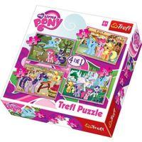 My Little Pony 4'lü Puzzle Seti (35+48+54+70 Parça)