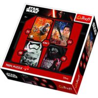 Trefl 4'lü Star Wars Çocuk Puzzle (35+48+54+70 Parça)