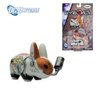 Kidrobot Dc Universe: Labbit Cyborg Vinyl Figure