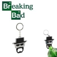 50Fifty Breaking Bad Keychain With Bottle Opener Şişe Açacağı