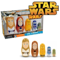 Ppw Toys Star Wars Jedi & Droids Nesting Dolls Matruşka Bebekler