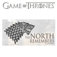 Sd Toys Game Of Thrones: The North Remembers Glass Poster