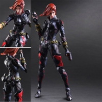 Square Enix Marvel Variant Play Arts Kai Black Widow Figure
