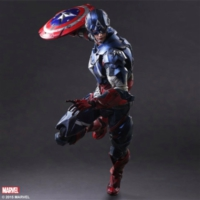 Square Enix Marvel Variant Play Arts Kai Captain America Figure