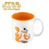 Sd Toys Star Wars: Bb-8 White Orange Mug Kupa Bardak