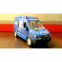 Can Toys Jandarma Siren Sesli Ve Işıklı Metal Araba 1:40 Ölçek