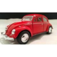 Diecast Volkswagen 1:32 1967 Beetle Klasik (Kırmızı)