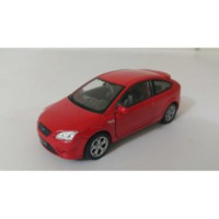 Welly 1:36 Ford Focus St Metal Araba Kırmızı
