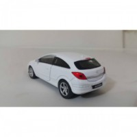 Welly 1:36 Opel Astra Metal Araba Beyaz