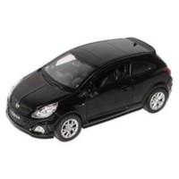 Welly 1:36 Opel Corsa Metal Araba Siyah