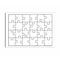Bk Sublimasyon A5 Puzzle (24 Parça)