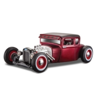 Maisto 1929 Ford Model A 1:24 Outlaws Kırmızı