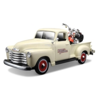Maisto 1:25 Harley-Davidson 1950 Chevrolet 3100 Pickup Model Araba