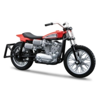 Maisto Harley Davidson 1972 XR750 Racing Bike 1:18 Model Motorsiklet