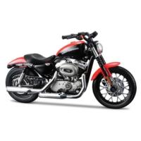 Maisto Harley Davidson 2007 XL 1200N Night 1:18 Model Motorsiklet