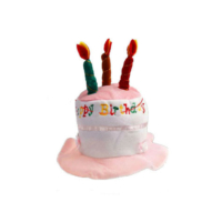 Toptancı Kapında Doğum Günü Pastası Şekilli Şapka