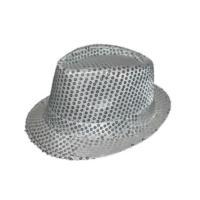 Toptancı Kapında Michael Jackson Şapkası - Yetişkin - Gümüş
