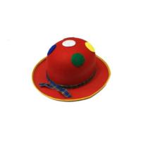 Toptancı Kapında Benekli Palyaço Şapkası - Kırmızı