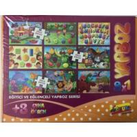 Keskin color 9x1 lu Çocuk puzzle