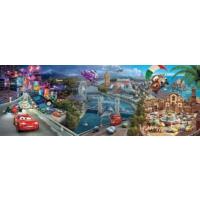 Clementoni 39348 Cars Panorama Puzzle (1000 Parça)