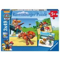 Ravensburger 3x49 Parça Paw Patrol Puzzle
