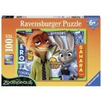 Ravensburger Zootopia Puzzle : 100 Parça XXL