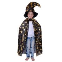 Çocuklar İçin Desenli Cadı Pelerini