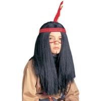 Uzun Kızılderili Peruğu